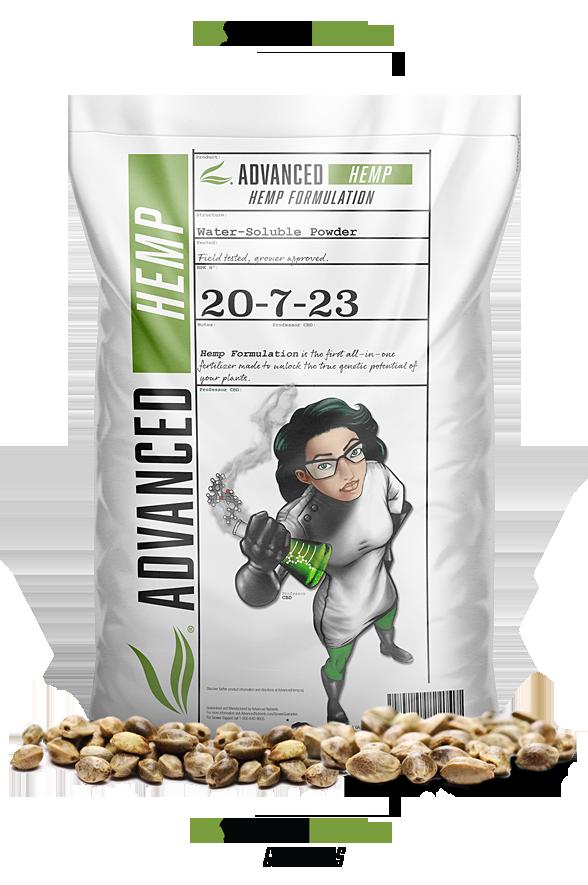 Advanced Hemp Order Now Fertilizer Bag Seeds